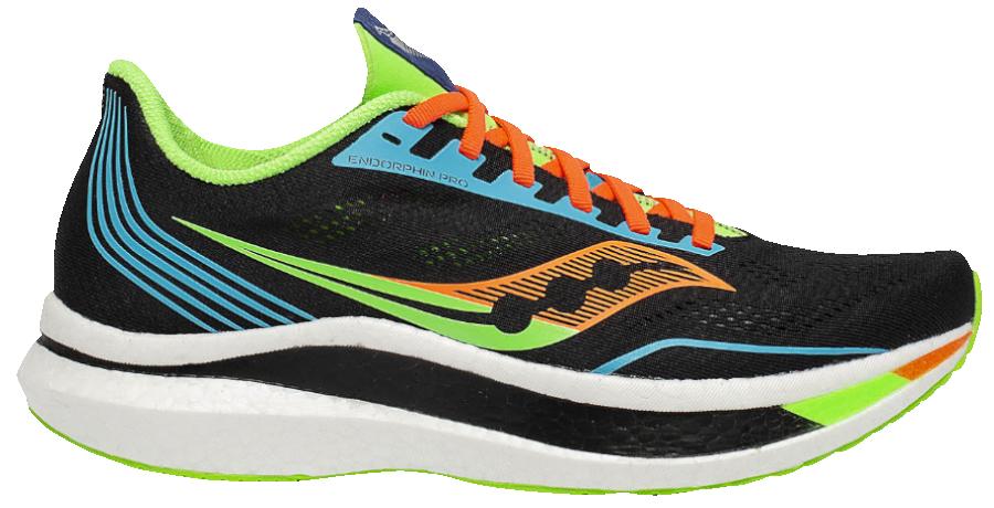 saucony endorphin pro scarpa da running con suola in carbonio