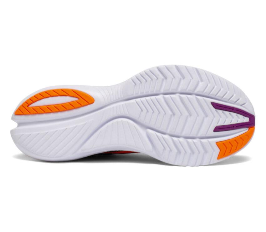 suola bianca scarpa running veloce donna saucony kinvara 12