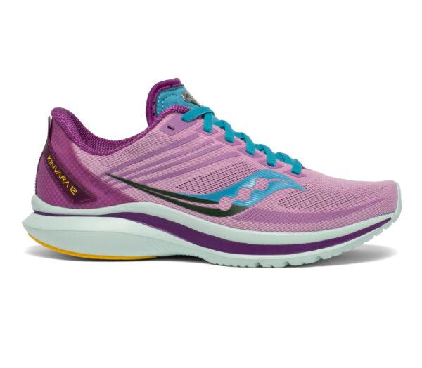 scarpe da running reattive per donna saucony kinvara 12 viola