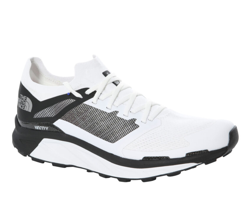 scarpa da trail running per uomo north face flight vectiv tnf bianca