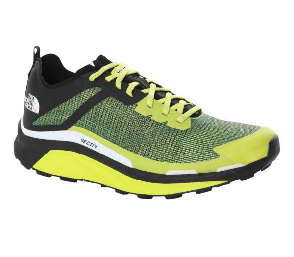 scarpa da trail running the north face vective infinite uomo giallo e nera