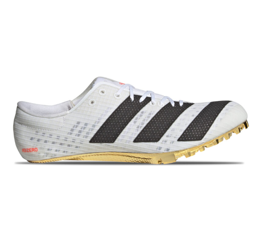 scarpa velocità e sprint 100 metri adidas finesse bianca