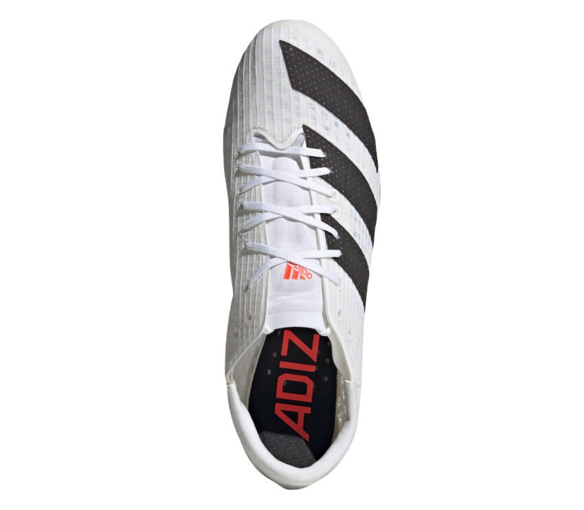 tomaia scarpa velocità e sprint 100 metri adidas finesse bianca