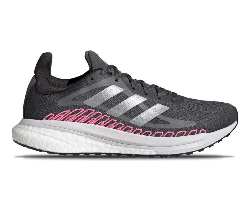 scarpa da running donna per pronazione adidas solar glide st 3 nera rosa