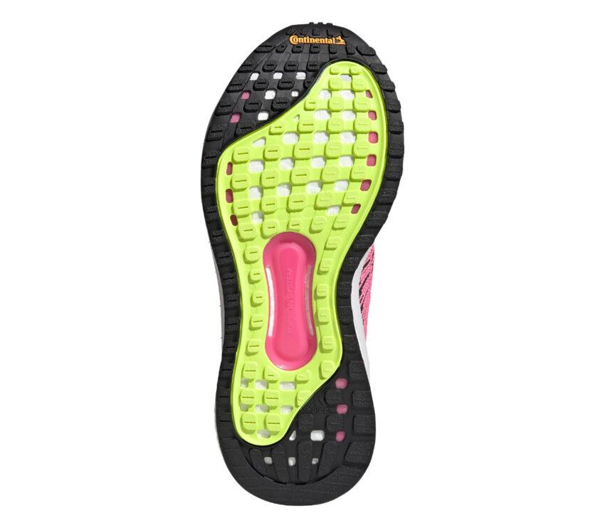 suola scarpa da running donna per pronazione adidas solar glide st 3 nera rosa