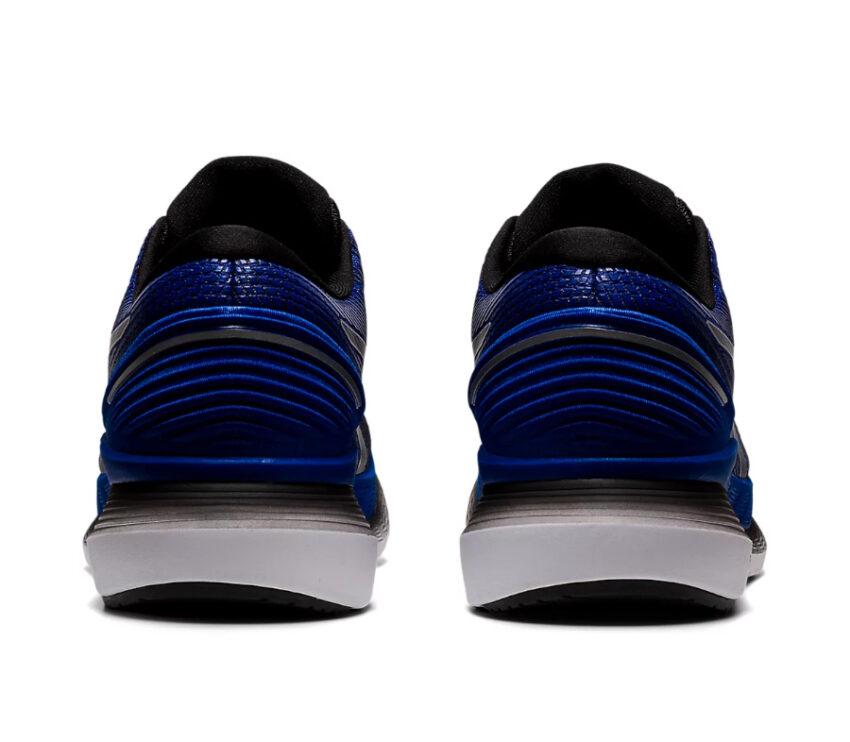 retro scarpa da running uomo asics glideride 2 blu
