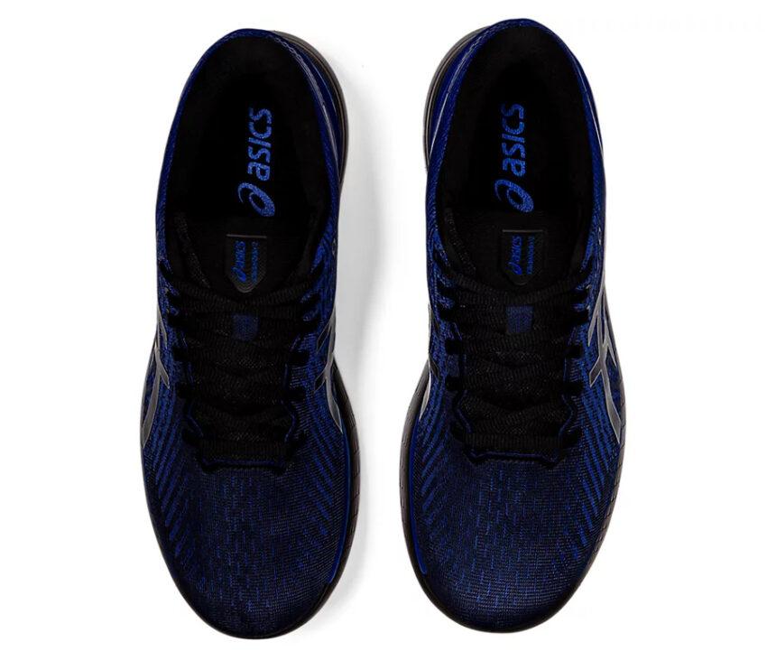 tomaia scarpa da running uomo asics glideride 2 blu