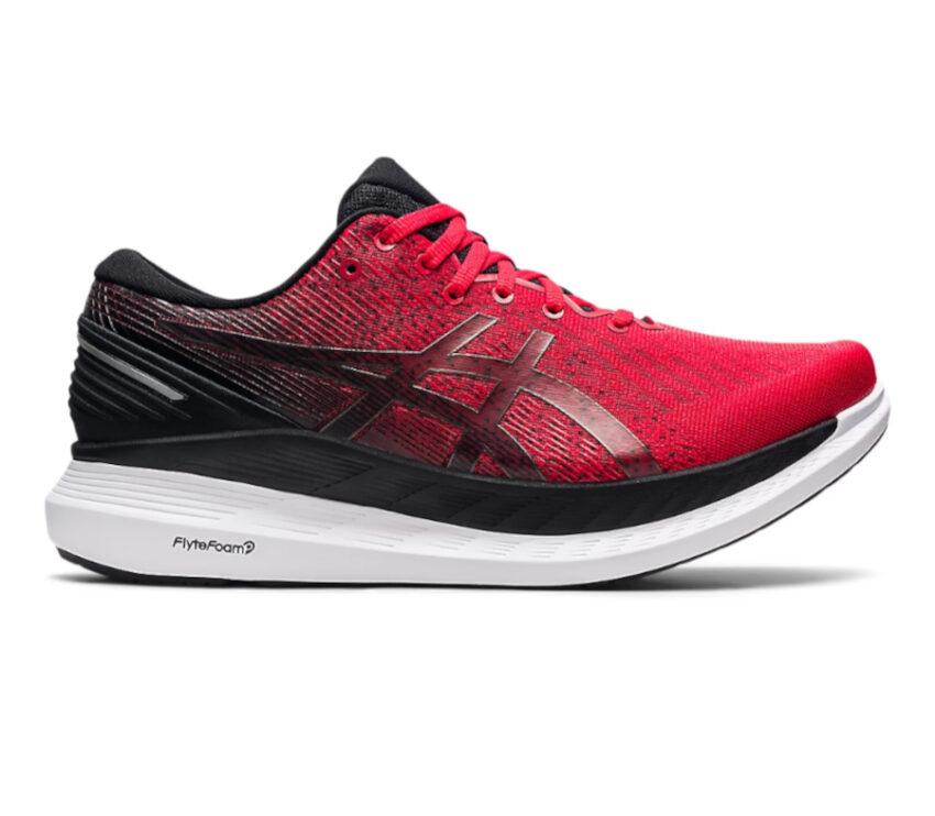 scarpa da running uomo asics glideride 2 uomo rossa