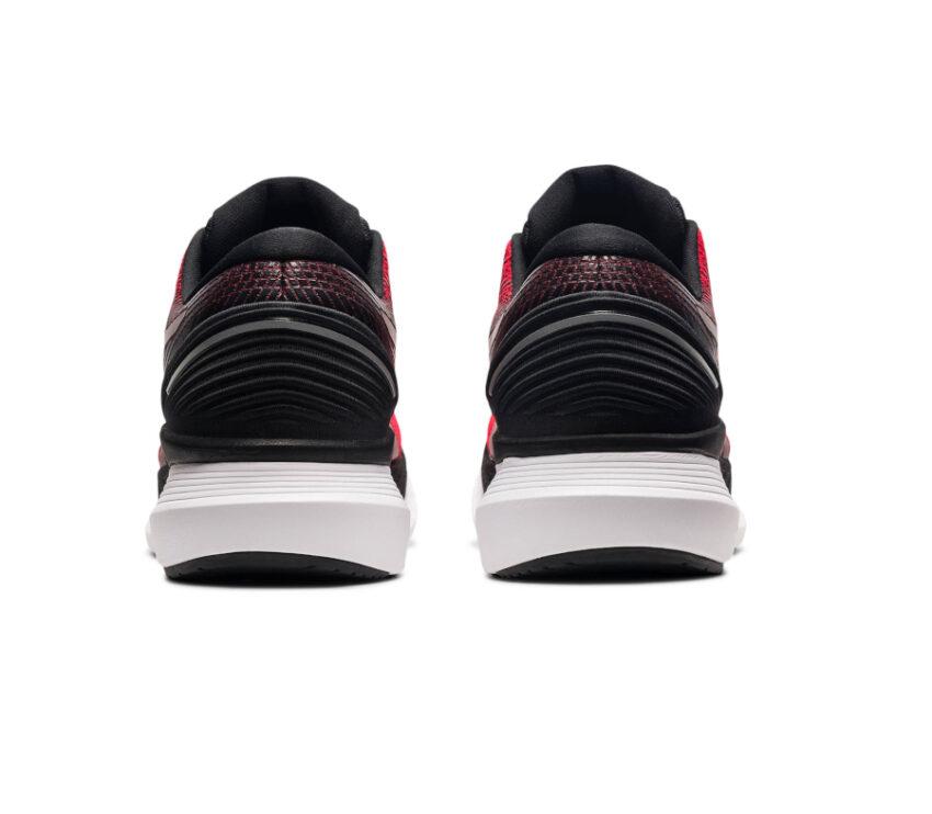 tallone scarpa da running uomo asics glideride 2 uomo rossa