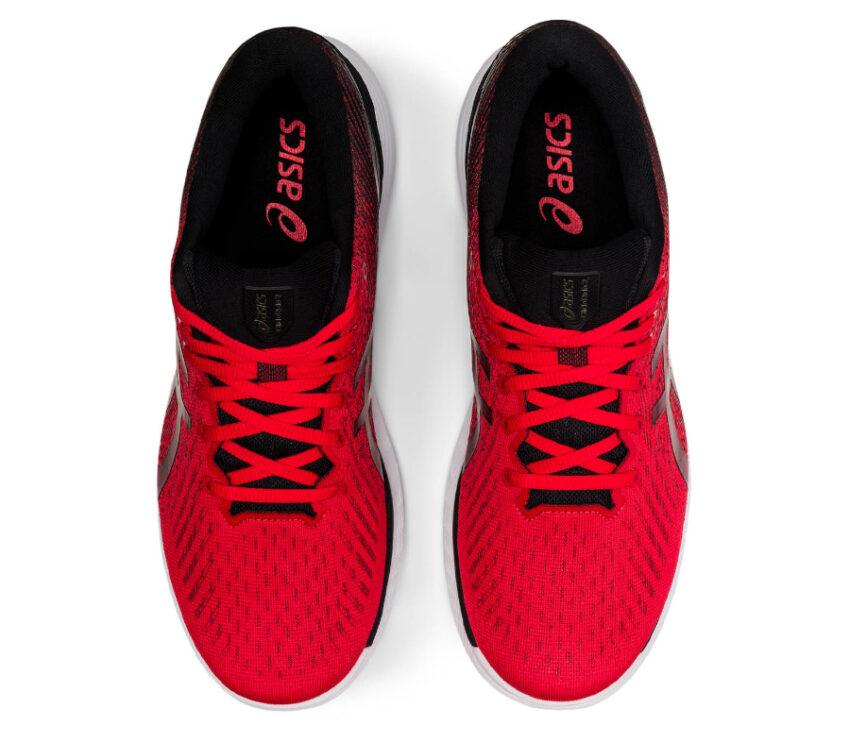 tomaia scarpa da running uomo asics glideride 2 uomo rossa
