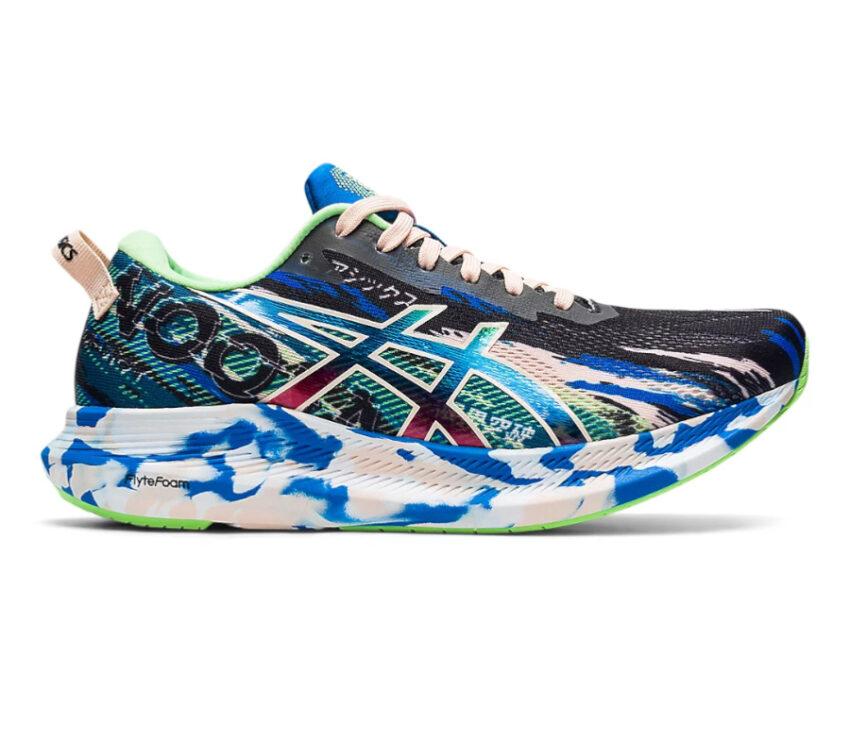 scarpa da running asics noosa tri 13 blu da donna