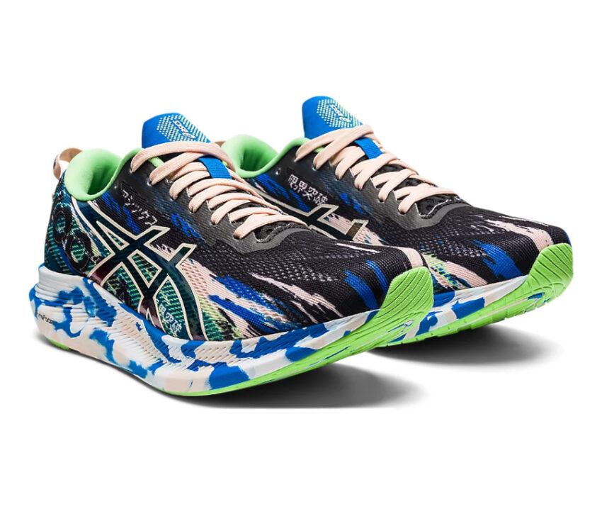 coppia scarpa da running asics noosa tri 13 blu da donna