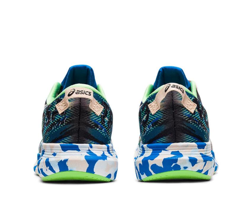 retro scarpa da running asics noosa tri 13 blu da donna