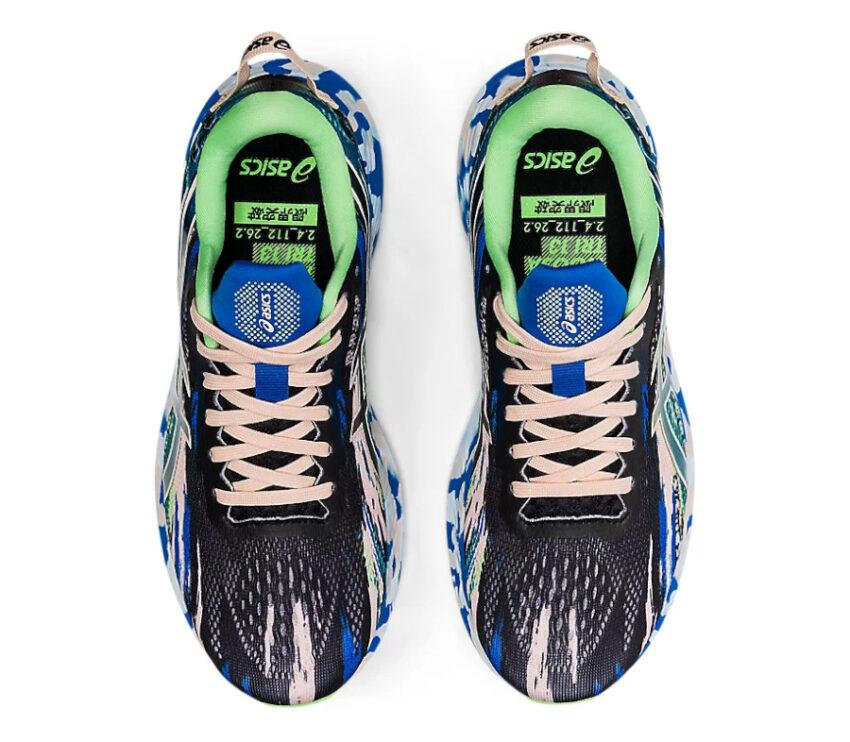 tomaia scarpa da running asics noosa tri 13 blu da donna