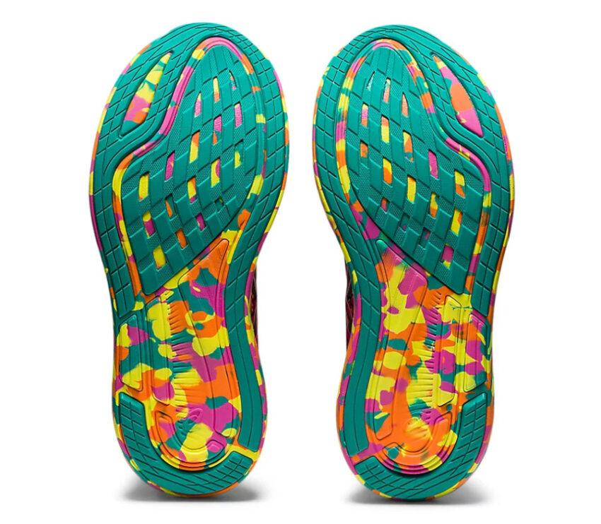 suola scarpa da triathlon e running per donna asics noosa tri 13