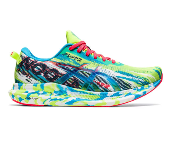 scarpa da triathlon uomo asics noosa tri 13 verde e blu