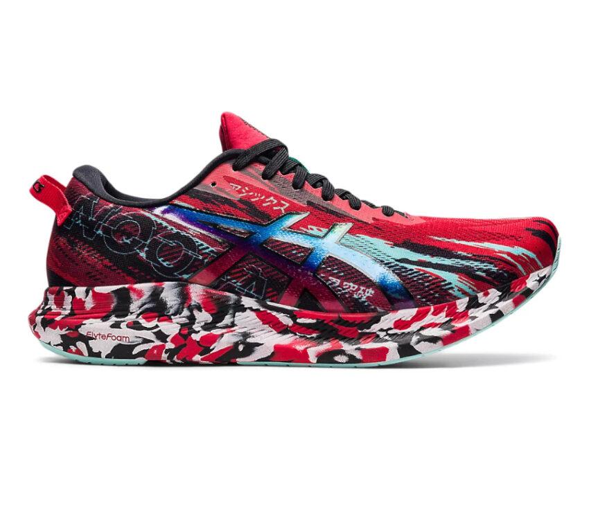scarpa da running asics noosa tri 13 rossa da uomo