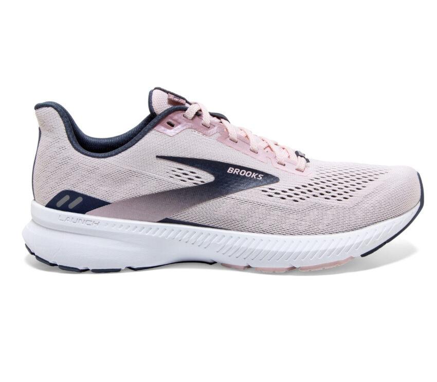 scarpa da running donna brooks launch 8 rosa