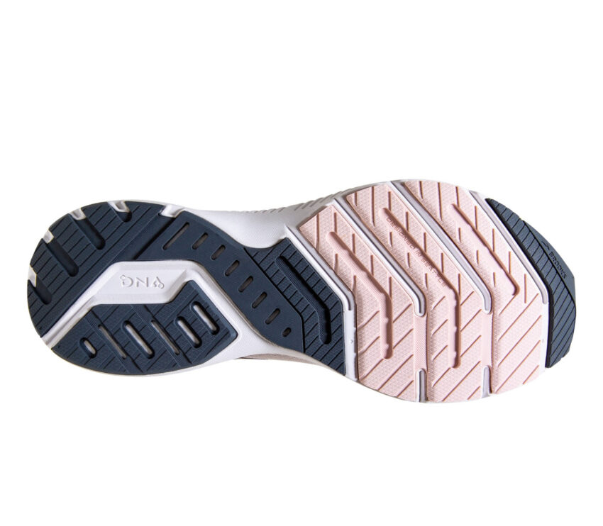 suola scarpa da running donna brooks launch 8 rosa