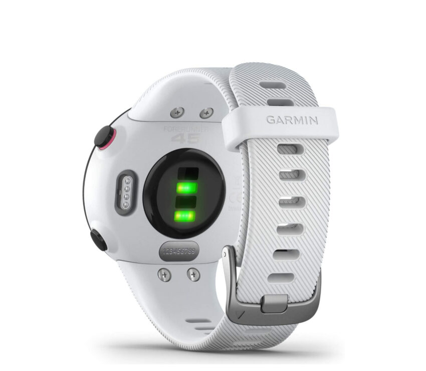 sensore cardio garmin forerunner 45 s bianco