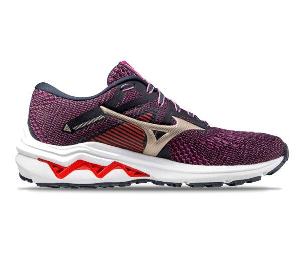 scarpa running donna mizuno wave inspire 17 viola