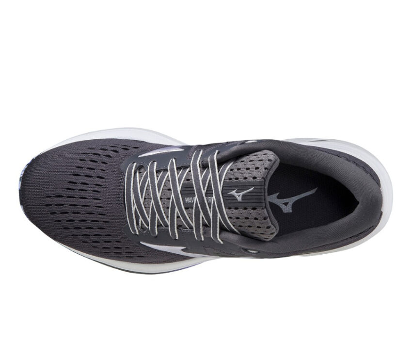 tomaia scarpa da running donna mizuno wave inspire 17 grigia