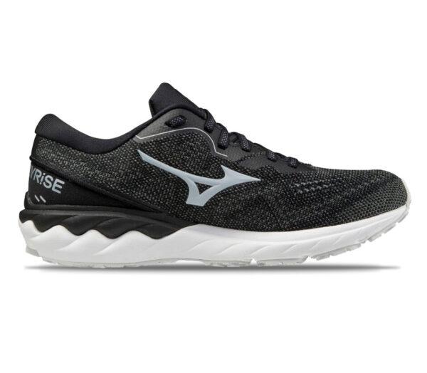 scarpa running donna nera mizuno wave skyrise 2
