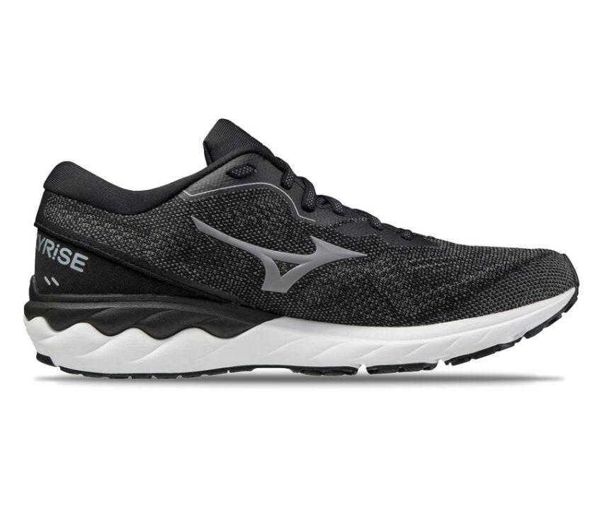 scarpa running uomo nera mizuno wave skyrise 2