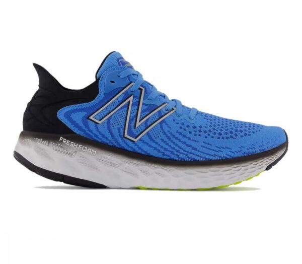 scarpa running uomo a pianta larga new balance 1080v11 2e blu