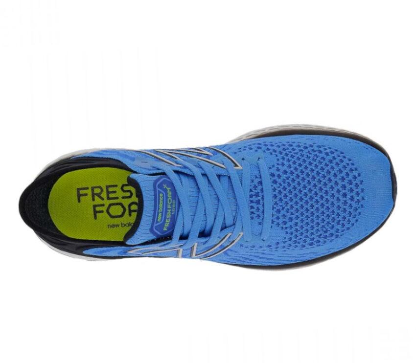tomaia scarpa running uomo a pianta larga new balance 1080v11 2e blu