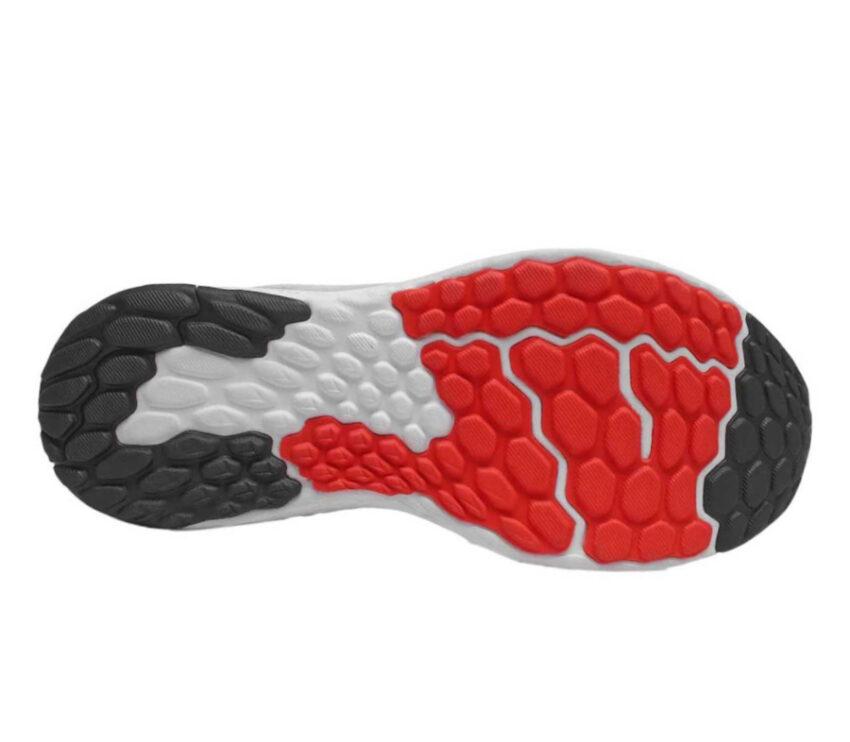 suola scarpa da running new balance 1080 10 rossa da uomo