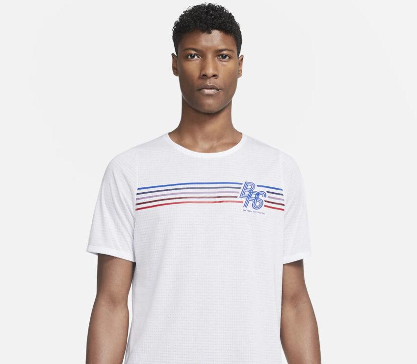 tshirt nike rise 365 blue ribbon sports