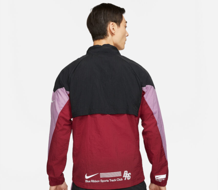 giacca a vento da running nike windrunner brs uomo