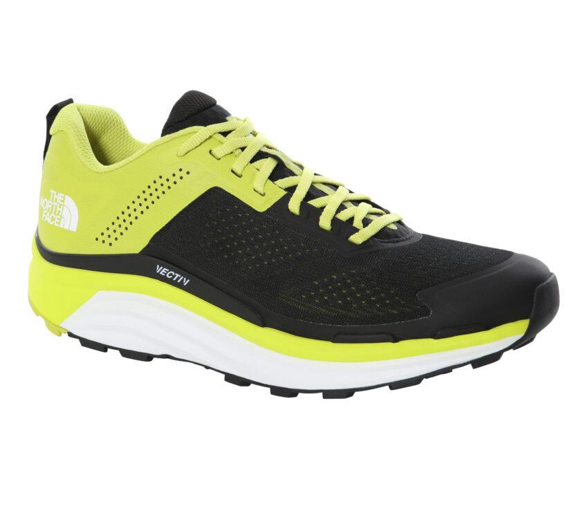 scarpa da running north face enduris gialla