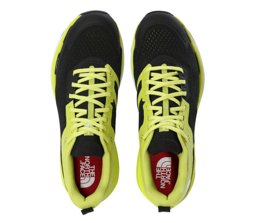 sopra scarpa da running north face enduris gialla