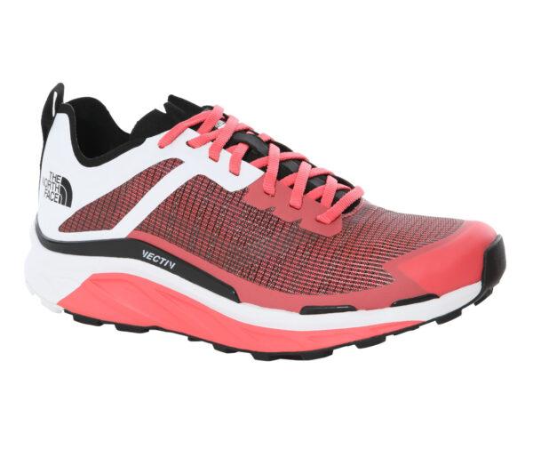 scarpa da trail running donna the north face vective infinite rossa