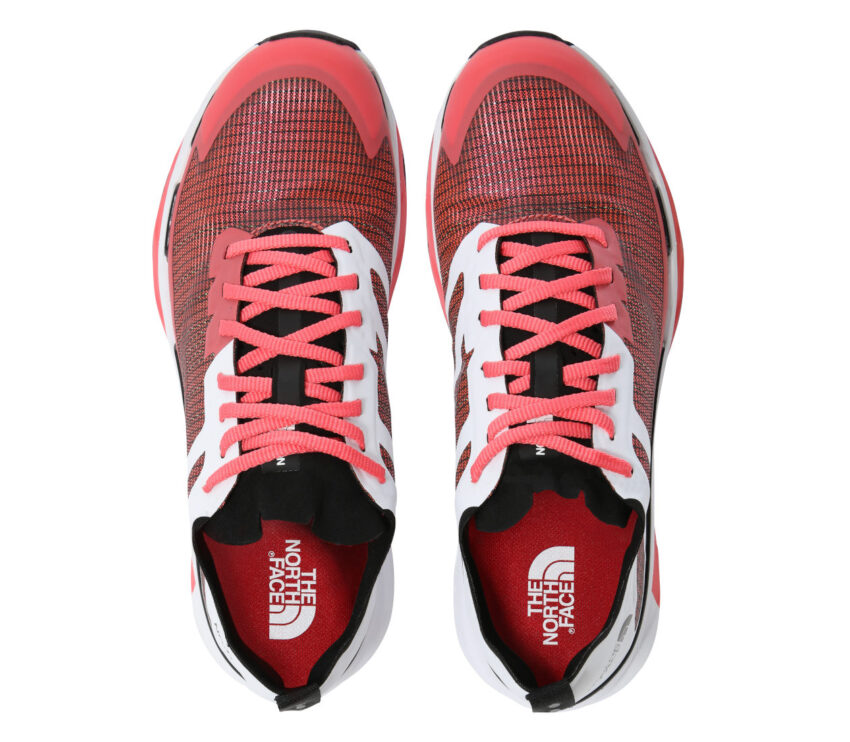 tomaia scarpa da trail running donna the north face vective infinite rossa