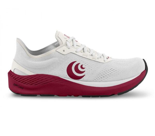 scarpa running minimal donna topo cyclone rossa e bianca