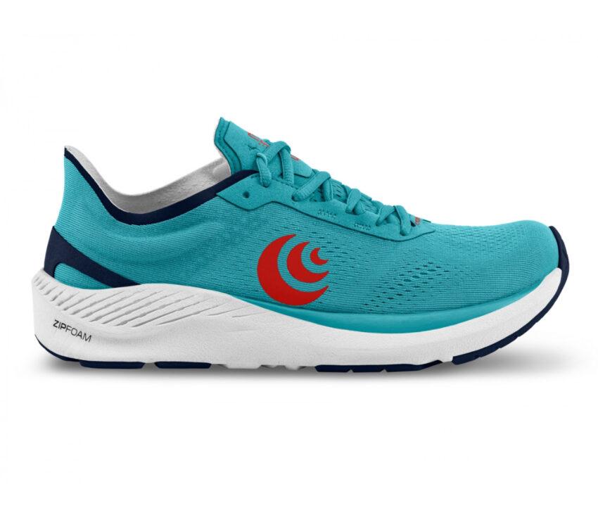 scarpa da running minimal drop basso topo cyclone azzurra uomo