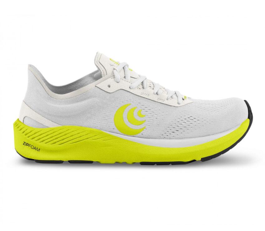 scarpa da running minimal drop basso topo cyclone bianca uomo