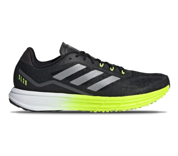 scarpa da running veloce adidas sl 20 2 nera