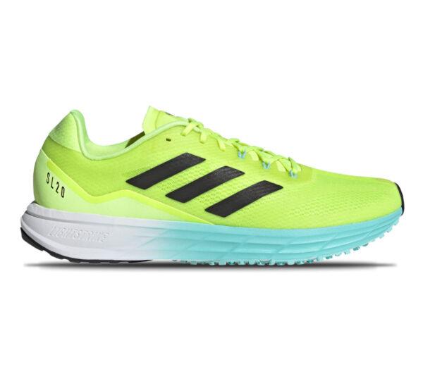 scarpa da running veloce adidas sl 20 2 fluo
