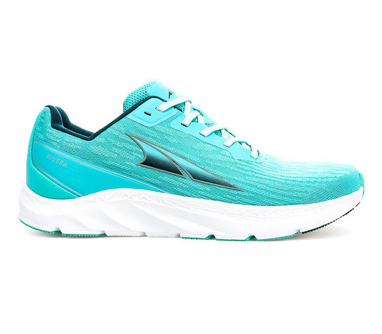 scarpa running altra running rivera da donna celesti