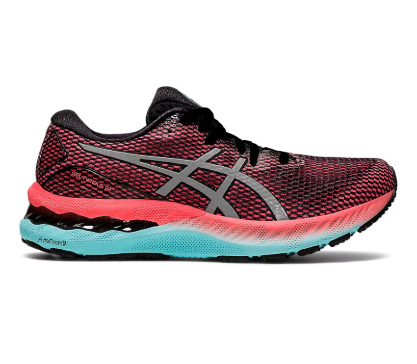 scarpa da running donna asics gel nimbus 23lite show rosa