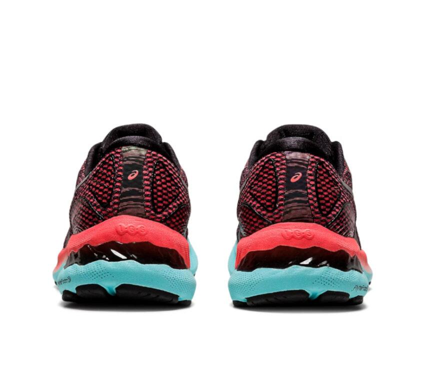 retro scarpa da running donna asics gel nimbus 23lite show rosa