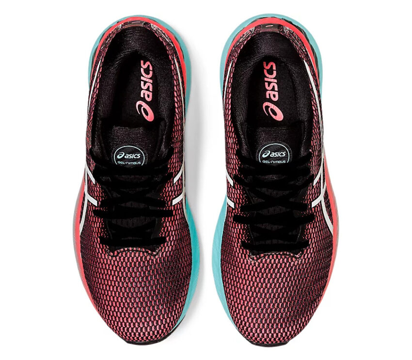 tomaia scarpa da running donna asics gel nimbus 23lite show rosa