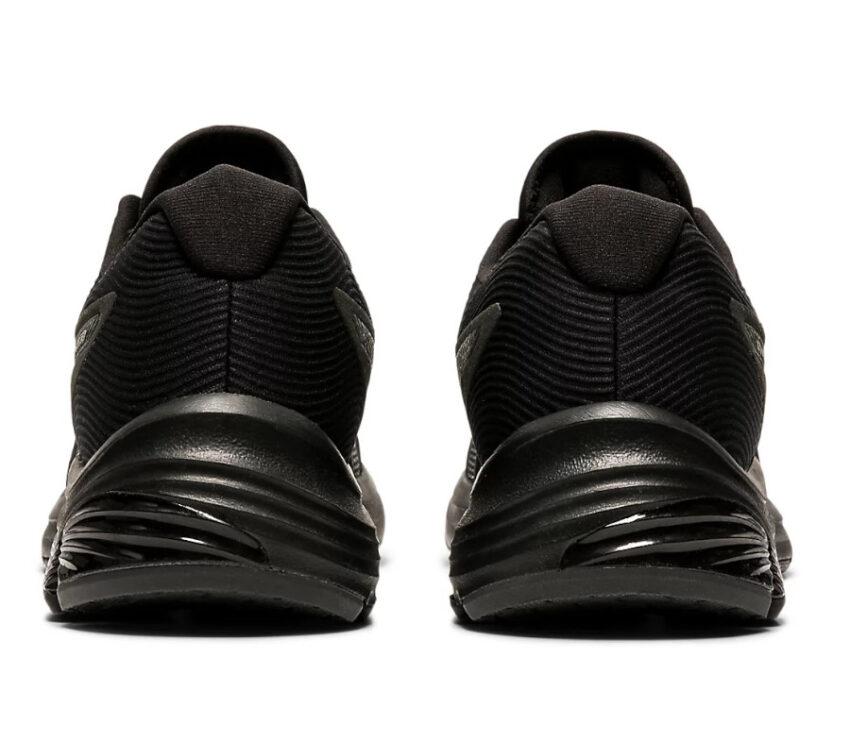 retro coppia scarpe running donna nere asics gel pulse 12
