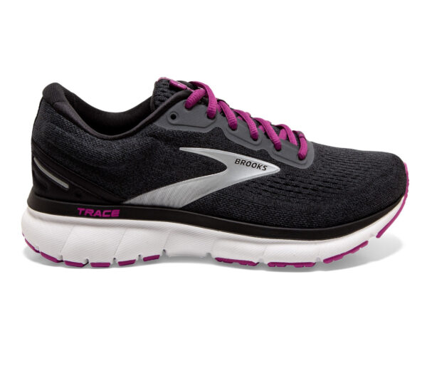 scarpa nera running per principianti da donna brooks trace
