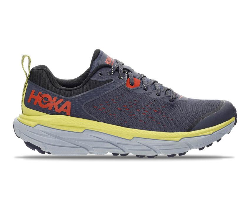 scarpa da trail running hoka challenger atr wide blu