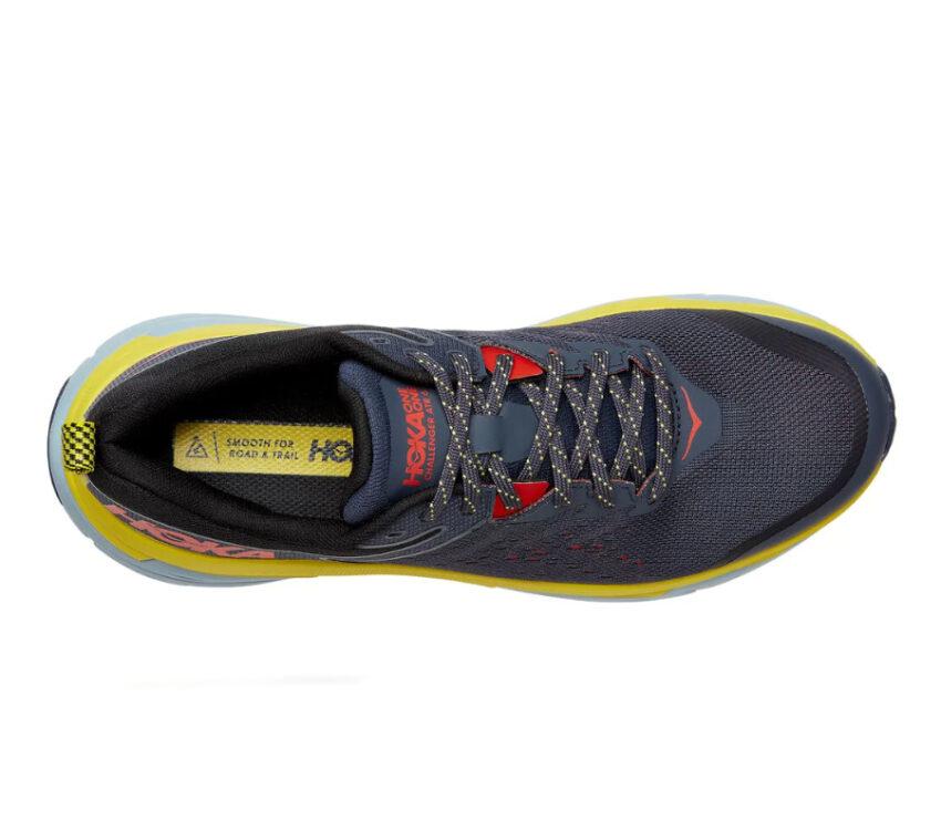 tomaia scarpa da trail running hoka challenger atr wide blu